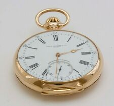 AMAZING PATEK PHILIPPE POCKET WATCH + 1820 FRENCH GOLD WATCH