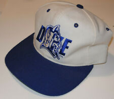 1990s DUKE BLUE DEVILS 'NEW ERA' HAT/CAP! OFFICIAL LIC!! SNAPBACK! PRO! VINTAGE!