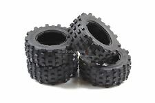 Mad Max Giant Grip Tyres - Full Set For KM X2 & Losi 5ive 1/5th RC