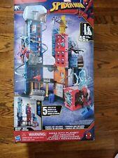 Marvel Spider-Man Spiderman  Mega City Playset New Hasbro Lowest Price!