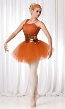 Remember Dance Costume Copper Christmas Ballet Tutu Clearance New Child Large