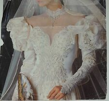 NWT VINTAGE EVE OF MILADY WEDDING GOWN