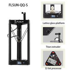 Flsun QQ-S 3D Printer Lattice glass platform  Auto-leveling Touch Screen & Wifi