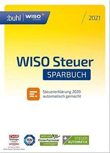 WISO steuer Sparbuch 2021 | für die Steuererklärung 2020 | Download