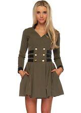 Long Sleeve Skater Short/Mini Formal Dresses for Women