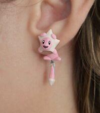 Lion earrings (regular pierced ears) inspired in Steven Universe.