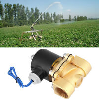 """12V DC 3/4"""" DN20 Electric Solenoid Valve Water Air Fuels Gas Normal Closed ark"""
