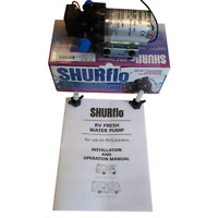 Shurflo Trial King 10, 30 PSI 12v – 10 LPM Water pump for Campervan, motorhome
