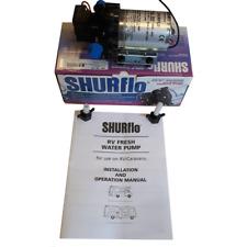 Shurflo Trial King 10, 30 PSI 12v – 10 LPM Water pump for Campervan, motorhome