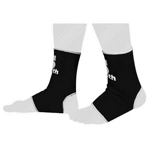MUAY THAI ANKLET INNERS PAIR BLACK MMA SUPPORT ANKLET FOOT PROTECTION