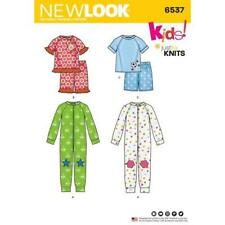 New Look Sewing Pattern 6537 Toddlers Pajamas Top Pants Size 1/2-8