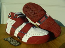 "2006 Nike Zoom Lebron 20-5-5 ""Four Horsemen PE"" White/Crimson SAMPLE dunkman mvp"