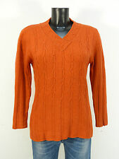FABIANA FILIPPI DAMEN PULLOVER GR 40 / ORANGE - WINTERWARM  ( K 4314 )