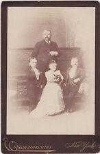 Cabinet Card Baron Magri Count Magri Minnie Warren Eisenmann 1880s