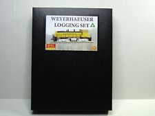 MICRO-TRAINS LINE N SCALE WEYERHAEUSER LOGGING SET 99301550