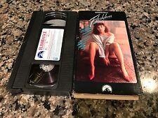 Flashdance Rare VHS! Paramount 1983 Jennifer Beals Grease Footloose
