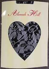 ALANNAH HILL Tights LACE FLOWER Pantyhose Quality DESIGNER Patterned Hosiery