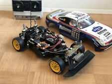 vintage tamiya porsche 959. manual speed controller RTR