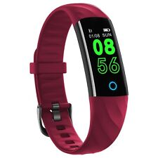 Fitness Tracker IP68 Smartwatch Noziroh Band Rosso Per Sport Huawei Xiaomi Honor