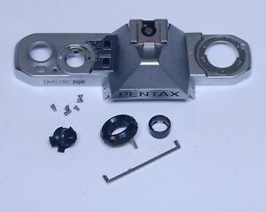 Pentax ME Super Top Cover Bezel Shutter Release Button SLR 35mm Film Camera Part