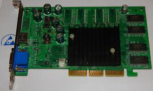 PNY Nvidia Geforce FX5200 128MB 128Bit DDR VGA Tvout AGP 8x Carte Graphique