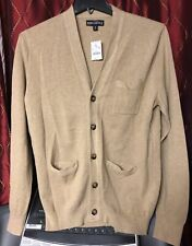 J CREW MENS CARDIGAN Sweater SIZE M Color Berge
