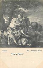 CP MUSEO DEL PRADO VENUS Y ADONIS PAR VERONES