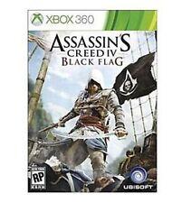 Assassins Creed IV 4 Black Flag (Microsoft Xbox 360, 2013)FREE POST VERY GOOD!!