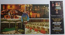 1970'S Postcard & Matchbook Combo Holiday Inn Bismarck North Dakota