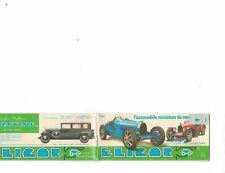 Eligor 1/43 scale car catalog (Great!) 1982 Miniature Cars
