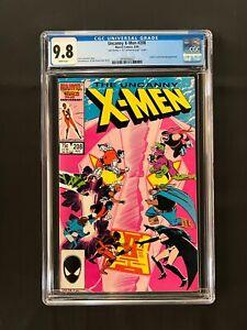 Uncanny X-Men #208 CGC 9.8 (1986) - Signed by John Romita Jr inside on page 1