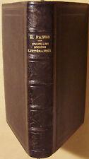 FAURE R.P.H. - NOUVELLES SOIREES LITTERAIRES - 1884