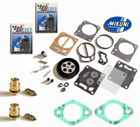 Sea Doo Dual Genuine Mikuni Carb Rebuild Kit Base Gasket & Needle Seat XP 96-97