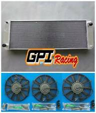 62MM CORE For Lotus Esprit S4/SE/S4s/V8/GT/GT3 1988-2004 Aluminum Radiator+Fans