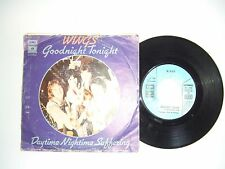 "Wings / Goodnight Tonight  – Disco Vinile 45 Giri 7"" Stampa Italia 1979"