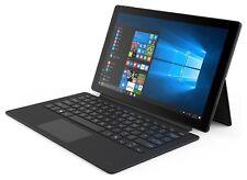 Linx 12X64 12.5 Inch 64GB Windows WiFi Tablet with Keyboard - Black