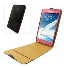 Fundas con tapa color principal negro para teléfonos móviles y PDAs Samsung
