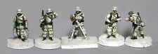 TQD GH07 20mm Diecast WWII German Winter Infantry 81mm Mortar Team