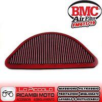 FM611/19 FILTRO DE AIRE DEPORTIVO BMC MV AGUSTA F4 1000 RR 2010 2011 2012