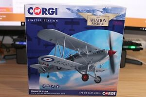 Corgi AA27301 Hawker Fury, K5674, Historic Aircraft Collection, 2013