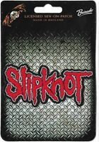Official Licensed Merch Woven Sew-on PATCH Metal Rock SLIPKNOT Logo Cut-out