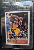 1996 TOPPS #138 KOBE BRYANT ROOKIE CARD RC LOS ANGELES LAKERS HOF