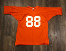 Vtg 60s-70s Southern Athletic Usa Made Football Jersey #88 Denver Broncos Youth
