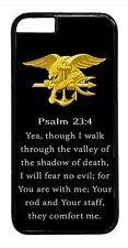 US Navy Seals Seal Prayer Black Case For Apple iPhone Models Rubber/Hard Cover