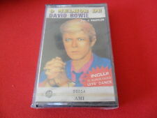 1990 O Melhor de DAVID BOWIE K7 <SEALED> PORTUGAL EXCLUSIVE 8 TRACK COOL DESIGN