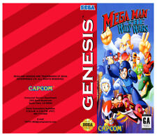 Color Custom Manual MEGA MAN WILY WARS SEGA Mega Drive USA Version - AAA+++