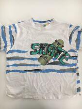Vintage SURF GEAR Men's Blue White Skateboard Skater T-shirt Size Large