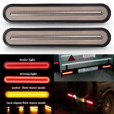 3 in 1 Neon 100 LED Trailer Light Brake Flowing Turn Signal Stop Tail Strip Lamp