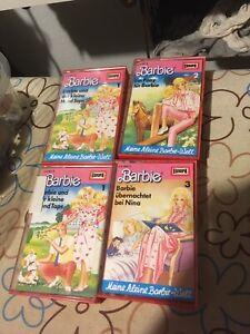 von 3 MC Kassetten Barbie --1 Teil aussuchen---
