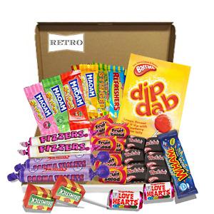 Retro Sweet Gift Box Pick n Mix Candies Old Fashioned Hamper Birthday Christmas